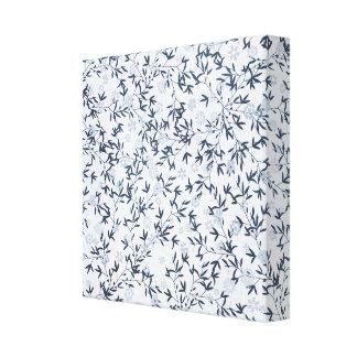 blue wildflowers canvas prints