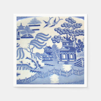 Blue Willow Cocktail Napkins Will Make You Proud Paper Serviettes