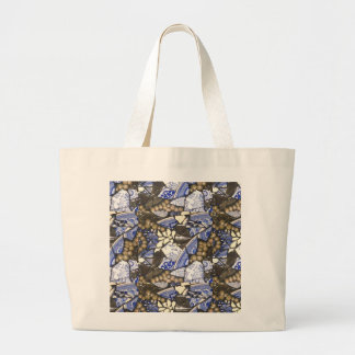 Blue Willow Mosaic tote bag