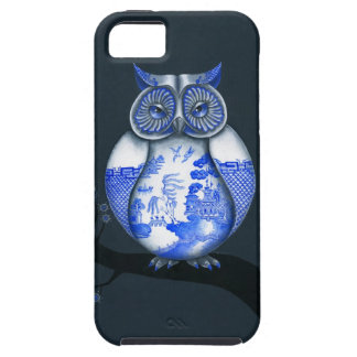 Blue Willow Owl iPhone 5 Covers