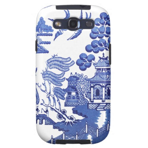 Blue Willow pattern Samsung Galaxy S3 Covers