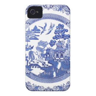 Blue Willow pattern iPhone 4 Case