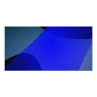 Blue Wind Customized Photo Card