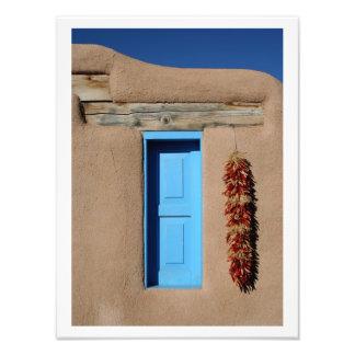 Blue Window of Taos Photo
