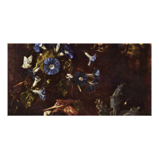 Blue Winds Toads And Insects By Schrieck Otto Mars Photo Greeting Card