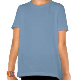 Blue Winged Dragon Girls Shirt