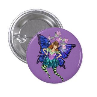 Blue Winged Pixie 3 Cm Round Badge