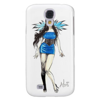 Blue Wings Samsung Galaxy S4 Cover