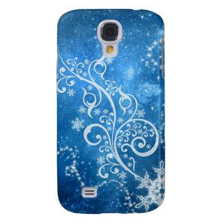 Blue Winter Samsung Galaxy S4 Case