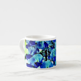 Blue Wisteria Espresso Cup