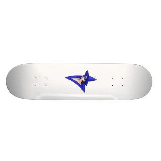 Blue Witch Custom Skate Board
