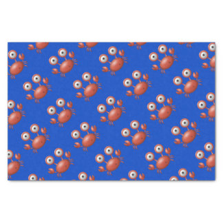 Blue with Red Lobster Under the Sea Birthday Tissue Paper