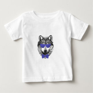 Blue Wolf Baby T-Shirt