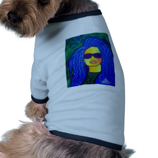 Blue Woman Sunglasses by Piliero Dog Clothes