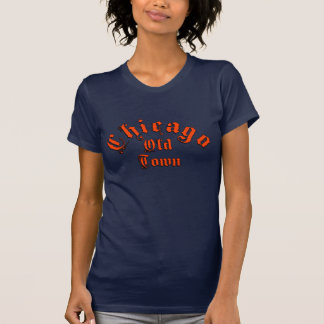 Blue Womens American Apparel Fine Jersey TShirt