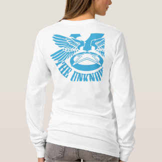 Blue Womens Fitted Hoody