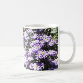 Blue Woods Asters Coffee Mug