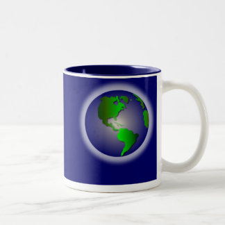Blue World of Thanks Mug2 Coffee Mug
