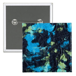blue yellow black wrinkled paper towel buttons