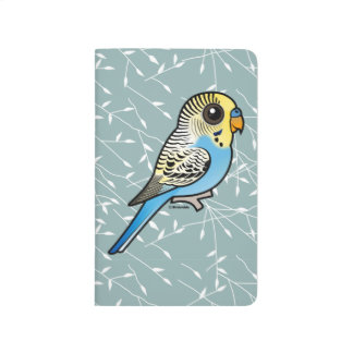 Blue & Yellow Budgie Journal