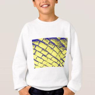 blue yellow cobbles sweatshirt