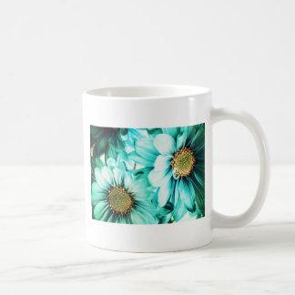 Blue & Yellow Daisies Coffee Mug