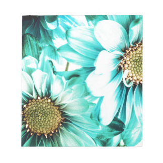 Blue & Yellow Daisies Notepad