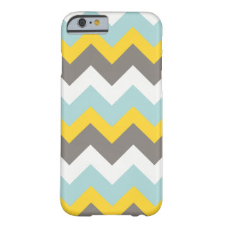 Blue, Yellow, Gray, White Chevron Phone Case