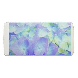 Blue & Yellow Hydrangea Flowers Eraser