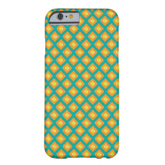 Blue, Yellow Ikat Diamond Pattern - iPhone 6 Case Barely There iPhone 6 Case