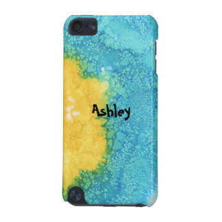 Blue/Yellow Watercolor iPod Touch (5th Generation) Cover