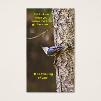 Blue & Yellow Woodpecker Bookmark