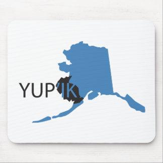 Blue Yupik Mouse Pad