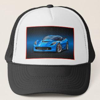 Blue_Z06 Trucker Hat