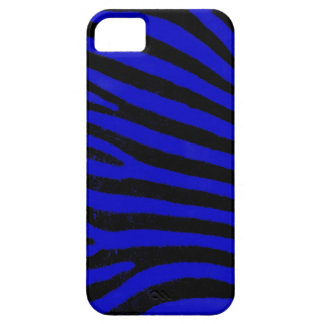 Blue Zebra Barely There™ iPhone 5 Case