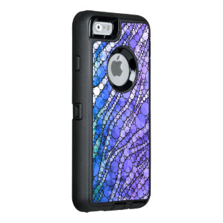 Blue Zebra Bling OtterBox iPhone 6/6s Case