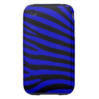 Blue Zebra iPhone 3G/3GS Case-Mate Tough Tough iPhone 3 Cases