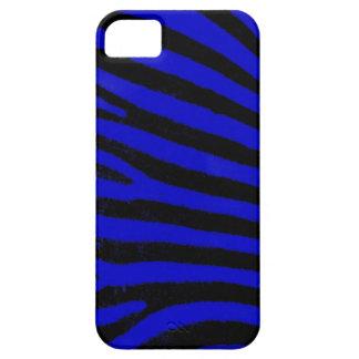 blue  zebra stripes iPhone 5 Case-Mate ID™ iPhone 5 Cover