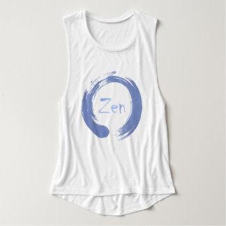 Blue Zen Ensō Tee Shirt