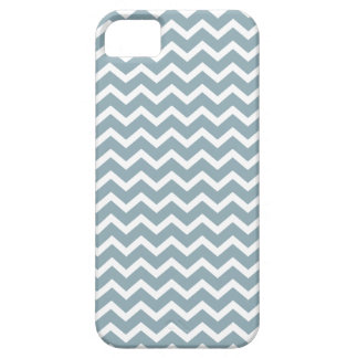 Blue Zig Zag Chevrons Pattern iPhone 5 Covers