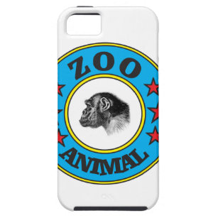 blue zoo animal patch iPhone 5 cover