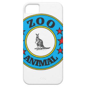 blue zoo kangaroo iPhone 5 case