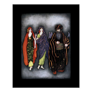 Bluebeard  ~ Fairy Tales ~ Bedtime Story ~ Poster