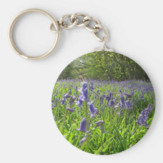 Bluebell Meadow Key Ring