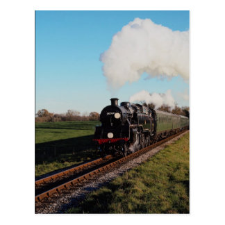 Bluebell Railway Standard 4 tank Post Card