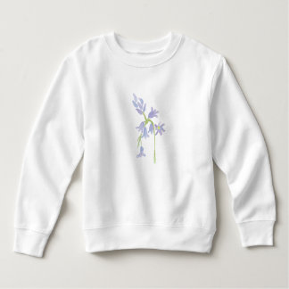 Bluebell water color painting sweatshirt