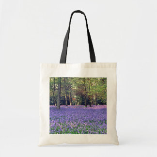 Bluebell Woods, England  flowers Tote Bag