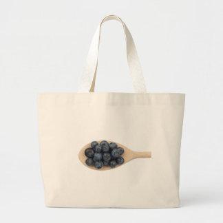 Blueberries Canvas Bag