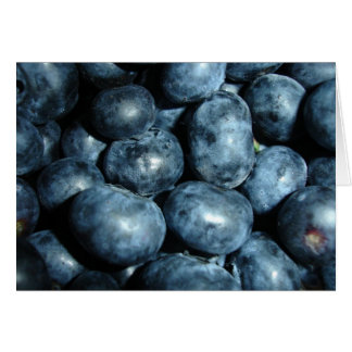 Blueberries Card
