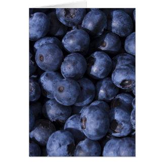 Blueberries! Card